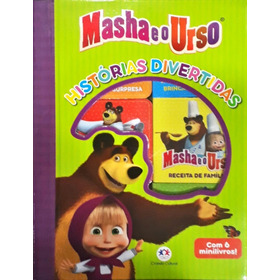 Box Com 6 Livros - Masha E O Urso Histórias Divertidas