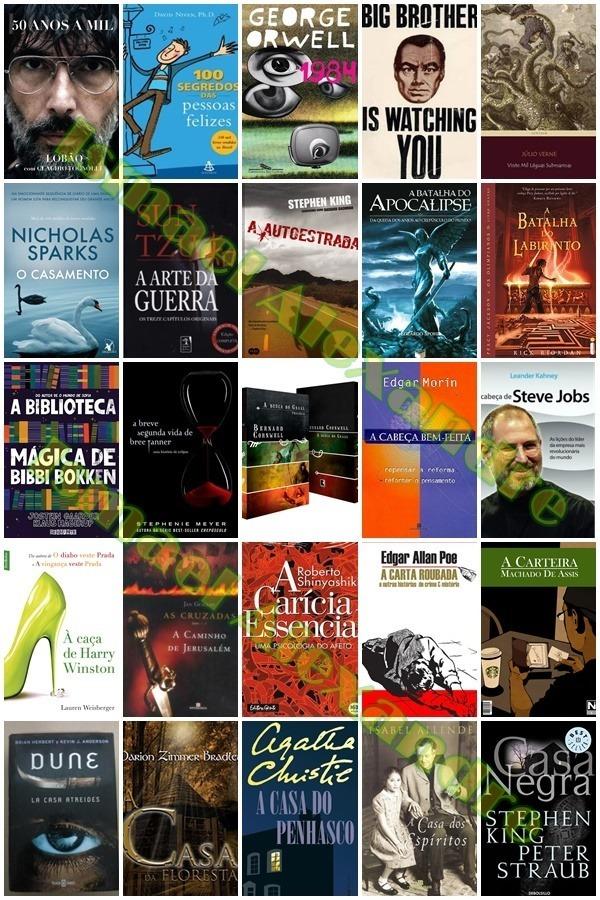 d6ddc9fc9d143 Box Com Mil (1.000,00) Livros + Brinde - R  50,00 em Mercado Livre