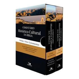 Box Comentario Historico-cultural Da Biblia