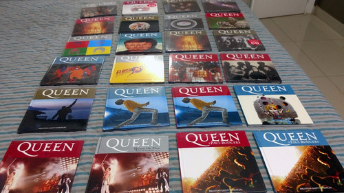 box completo queen 24 cds e livros de luxo polonês