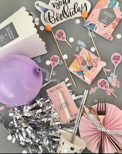 box cumpleaños celebra en casa