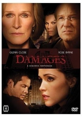 box damages - 2 temporada (3 dvd ) - glenn close rose byrne