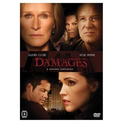 box damages - 2ª temporada - 3 dvds- glenn close