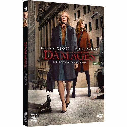 box damages 3ª4ª e 5ª temporadas original e lacrada - 9 dvds