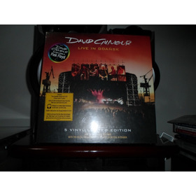 Box David Gilmour - Live In Gdansk, Vinil, 5 Lp - Pink Floyd