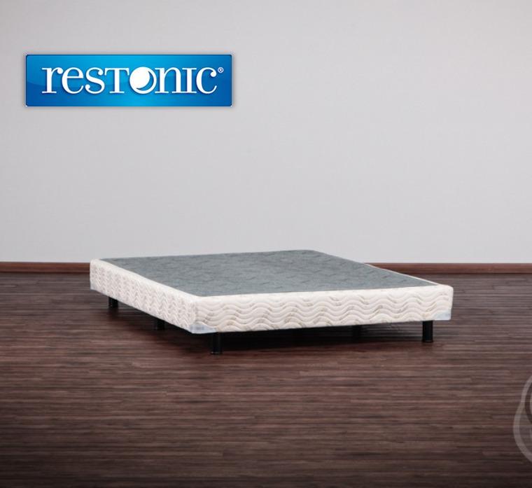 Box de cama para colchon king size env o gratis restonic for Colchon para cama king size