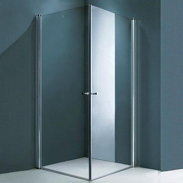 Box De Ducha 80x80 Puerta Pivotante Sin Receptáculo - $ 12.698,00 en ...