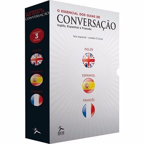 box de livros - o essencial dos guias de conversação (3 vol)