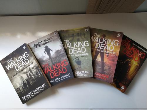 box de livros the walking dead