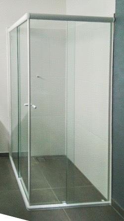 box de vidro para banheiro à pronta entrega - porto alegre
