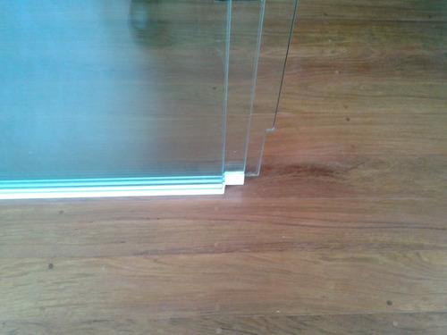 box de vidro / portas sistema versatik 3 folhas