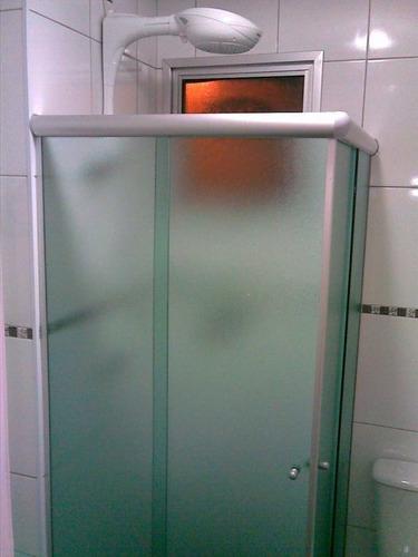 box de vidro temperado e acrílico instalação inclusive