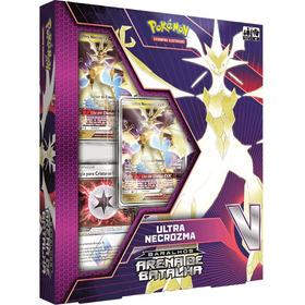 Box Deck Pokémon Arena De Batalha Ultra Necrozma Gx -copag