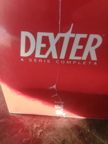 box dexter completo as 8 temporada ori/ lacrado frete grátis
