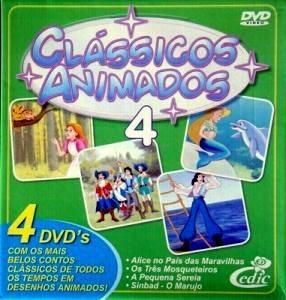box dvd classicos animados 4
