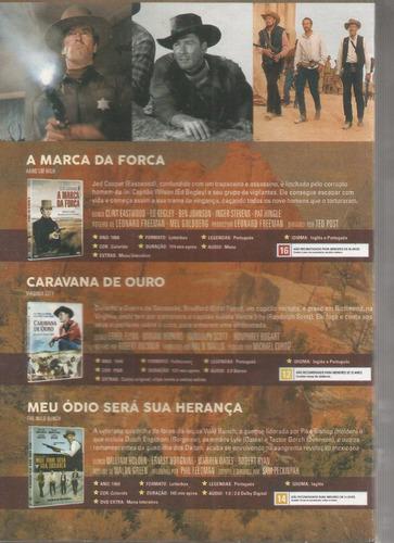 box dvd classicos do faroeste - classicline - bonellihq l19