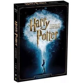 Box Dvd Harry Potter Lacrado Original Coleçao 8 Discos
