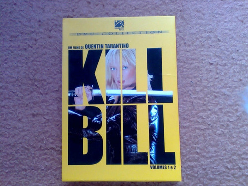 box dvd kill bill vol. 1 e vol. 2 - dublado