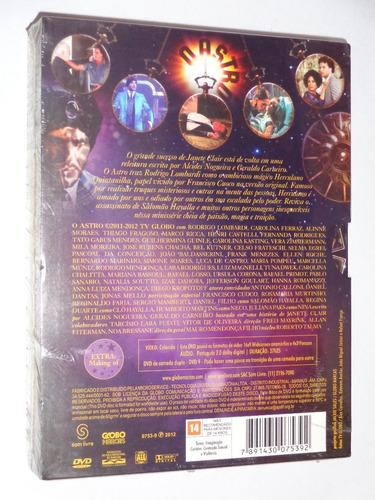 box dvd novela o astro - original lacrado 12 discos