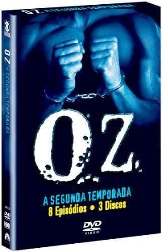 box dvd oz - 2ª temporada completa - 3 dvds + 3 brindes