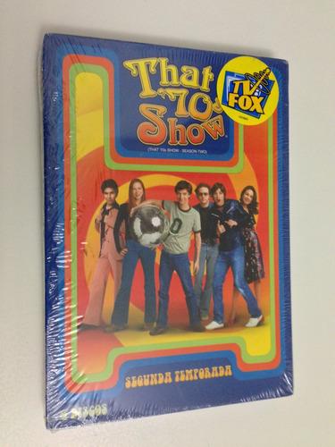 box dvd that 70s show temporada 2 lacrado