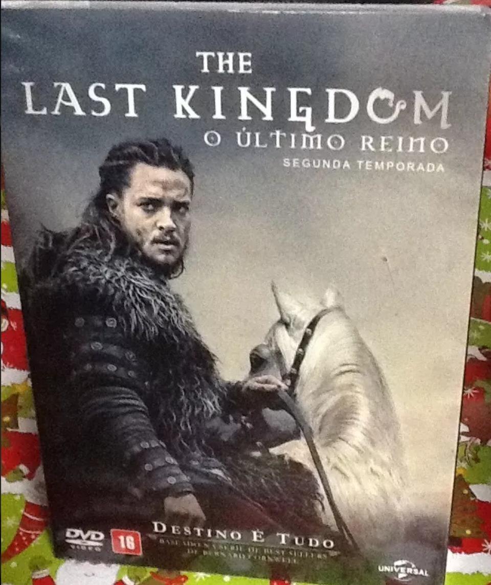 3 Temporada De The Last Kingdom box dvd : the last kingdom - 2ª temporada original - 3 dvd's