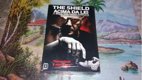 box dvd the shield acima da lei a sexta temporada completa