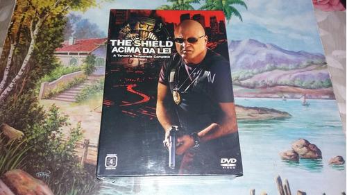 box dvd the shield acima da lei a terceira temporada novo