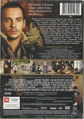 box  dvd the tudors - 2ª temporada - 3 dvds