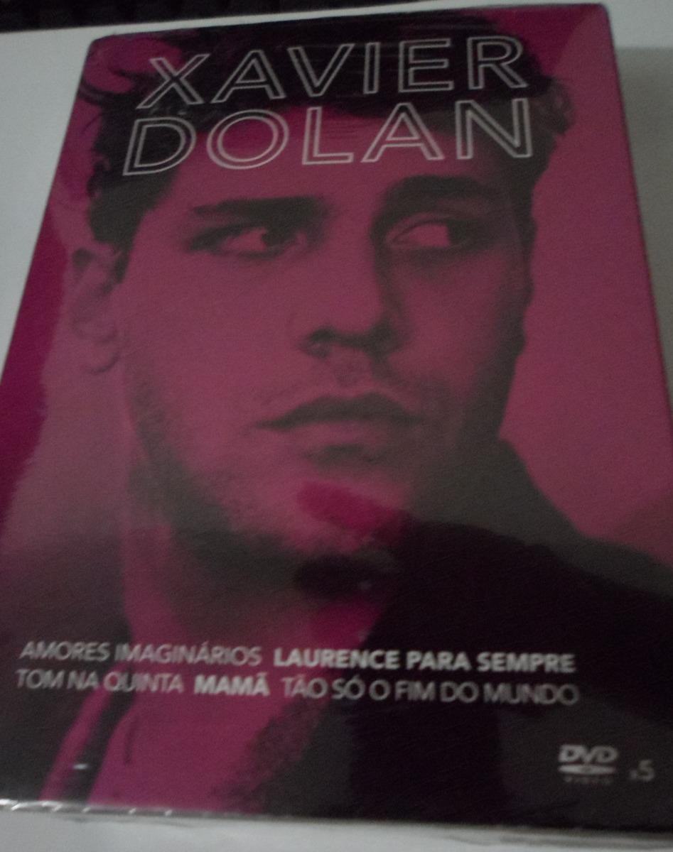 Box Dvd Xavier Dolan Colecao 5 Filmes Lacrado