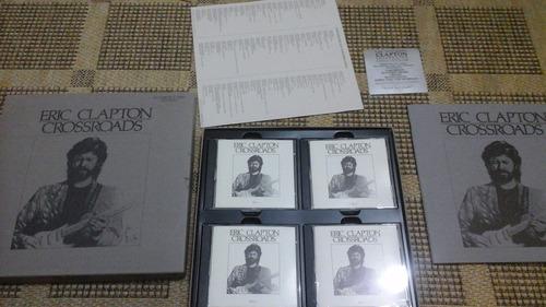 box -eric clapton -crossroads-4 cd's -importados-com encarte