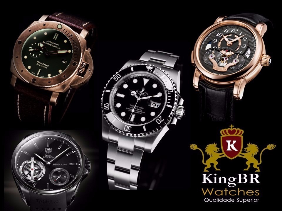 8e54b7a2325 box estojo caixa rolex manual certificado complet 12x kingbr. Carregando  zoom.