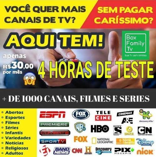 box femily tv - canais filmes e series