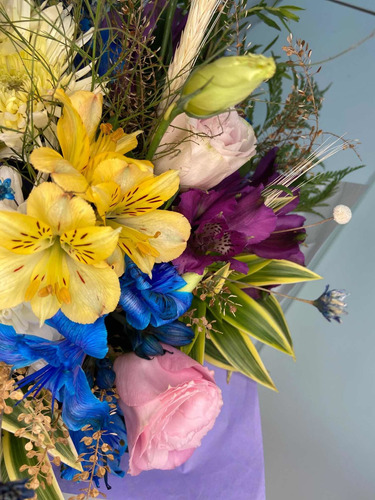 box flower tamanho g