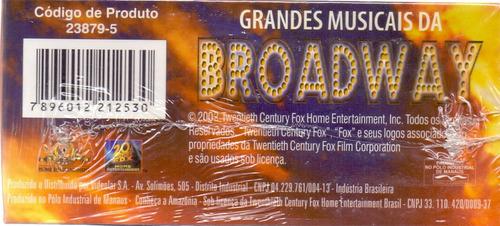 box grandes musicais da broadway - novo***