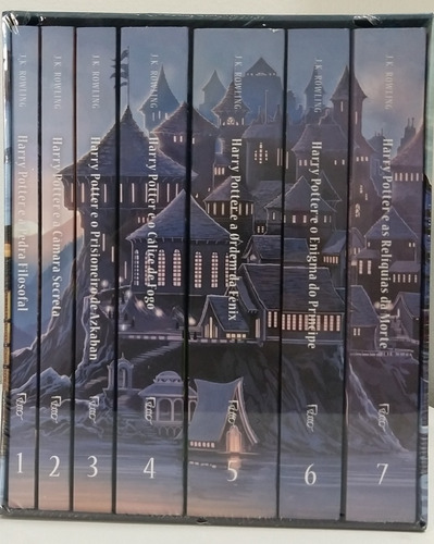 box - harry potter - 7 livros + brinde