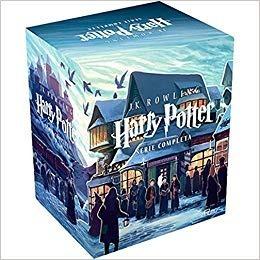 box harry potter 7 livros + o livro das criaturas capa dura