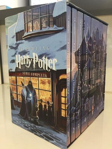 box harry potter de vitrine - série completa
