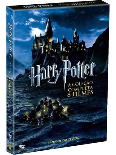 box harry potter digipak 8 filmes 9 dvds - lacrado original