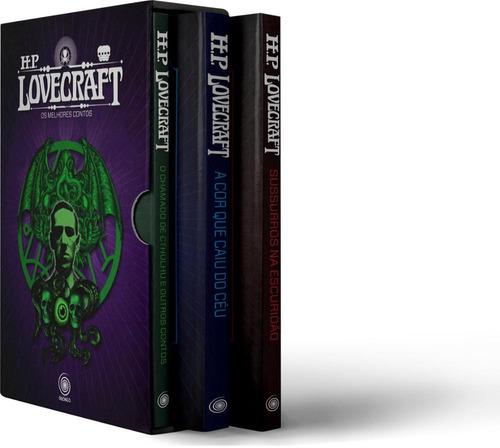 box - hp lovecraft - os melhores contos - 3 volumes