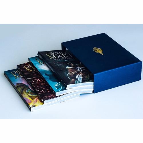 box hq's crônicas de gelo e fogo - caixa c/4 volumes lacrado