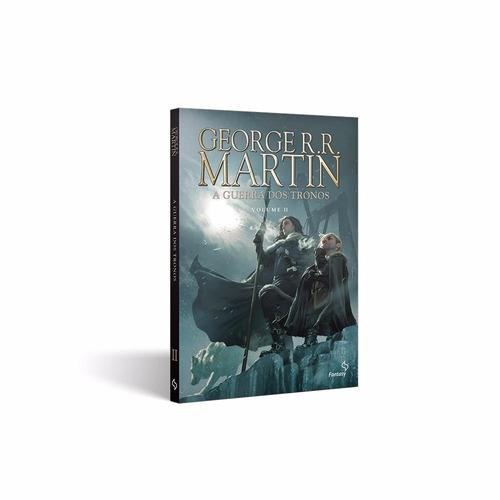 box hqs crônicas gelo e fogo - game of thrones (4 volumes) !