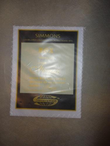 box individual acolchado simons