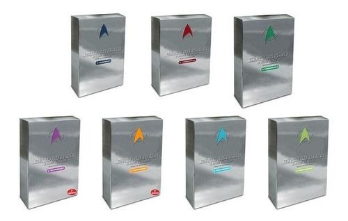 box jornada nas estrelas - a nova geração 7 temp. completas