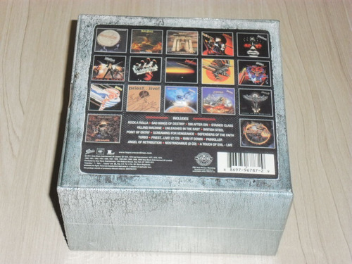 box judas priest - the complete albums collection (19 cd's)