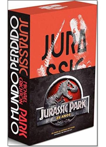 box jurassic park 25 anos