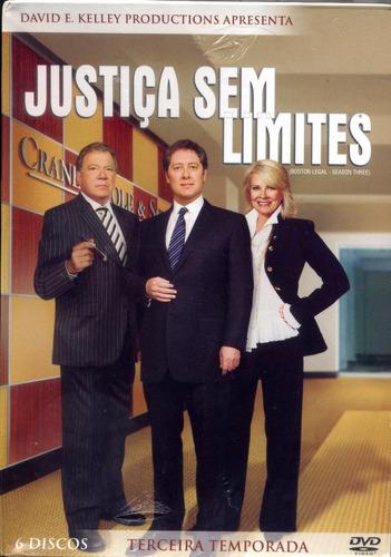 box -  justiça sem limites - terceira temporada - 6 dvds