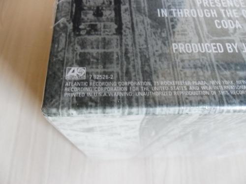 box led zeppelin - the complete studio recordings (lacrado)