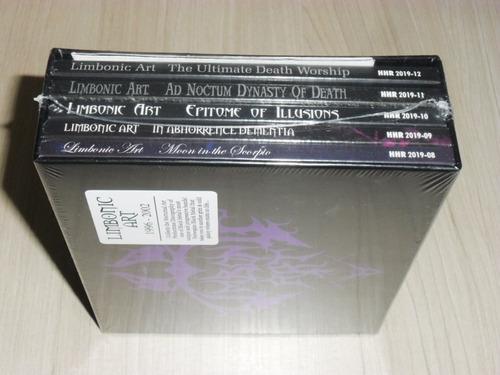box limbonic art - 1996-2002 (holandês 5 cd's digipack)