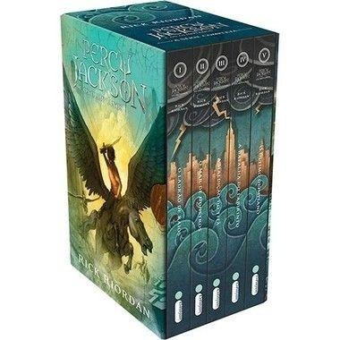 box livros - percy jackson e os olimpianos - capas novas